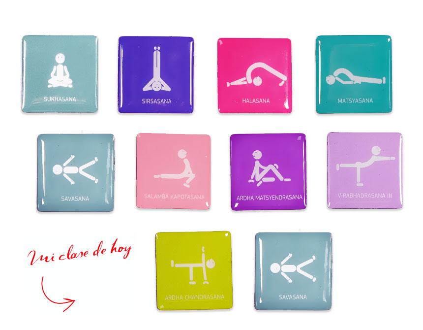 Ejemplo de secuencia de posturas  - 50 posturas que cambiarán tu vida | Yowe
