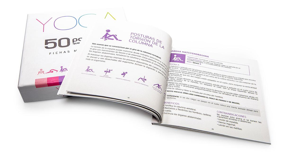 Caja con Manual y fichas imantadas. Planificador de clases. Regala Yoga | Yowe