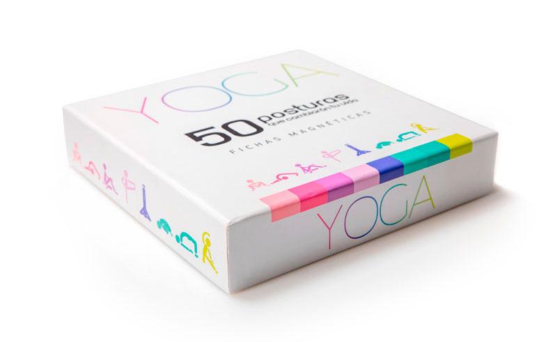 Caja de 50 posturas que cambiarán tu vida. Planifica tus clases. Regala Yoga | Yowe