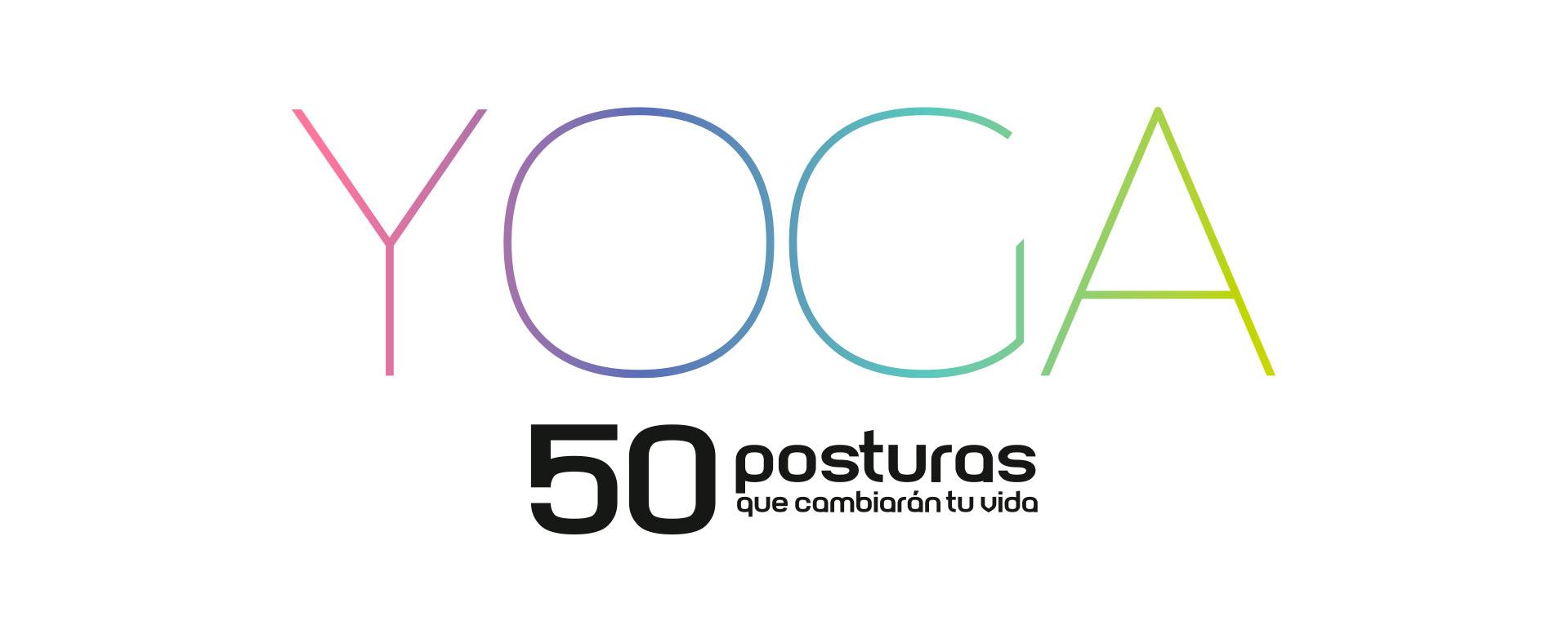 Logotipo - 50 posturas que cambiarán tu vida. Planifica tus clases. Regala Yoga | Yowe