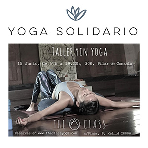 Taller de yin yoga en the class yoga - Yowe Yoga